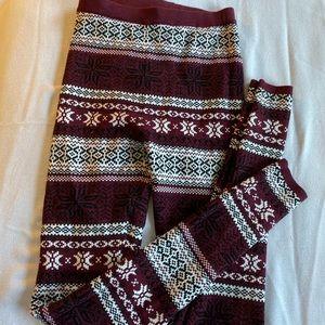Warm Printed Leggings